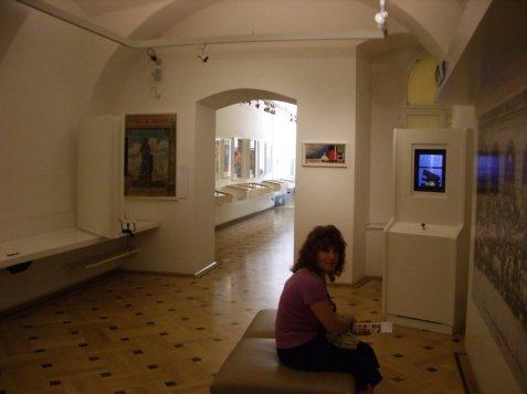 Jen la muzeo kaj mia edzino en gxi